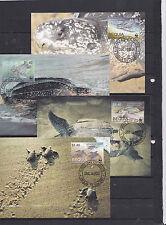 Bequia 2001 - FDC/Card - Dieren/Animals/Tiere (Schildpadden / Turtles) WWF