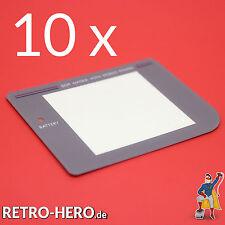 10 X Nintendo Game Boy Classic Grau Display Scheibe LCD Screen austausch Linse