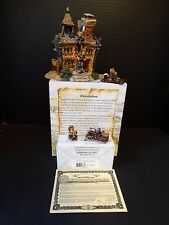 Boyds Bearly Village ~ Volunteer Firestation + Accessory ~ #19007 19507 ~ Box