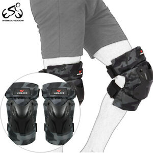 Adult BMX Racing Knee Pads MTB Cycling Downhill Knee Protection Support Guards