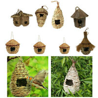 Grass Bird Hut Cozy resting place for Small Bird Roosting Pocket/Birdhouse