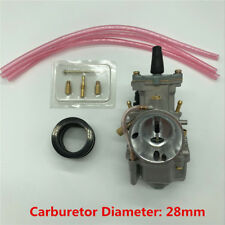 Φ28 Racing Flat Side Carburetor with Main Jets Kit for Honda CR125R CR80 CR85