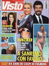 Visto 2018 2.Michelle Hunziker,Terence Hill,Kim Kardashian,Frida Kahlo,Jovanotti
