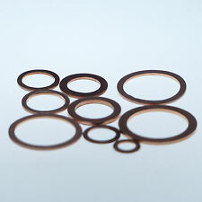 Kupferringe / Dichtringe  6x10x1 mm 25 Stück