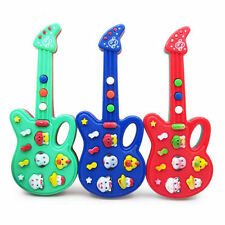 Baby Kids Electronic Guitar Educational Rhyme Developmental Music Sound Toy NS