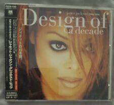 Janet Jackson Design of a Decade CD Japan import OBI strip