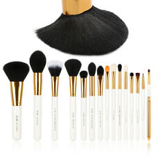 UK Jessup 15Pcs Foundation Makeup Brush Set Eye shadow Eyeliner Brush Tool White