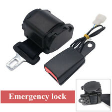 1Pc Multifunctional Automatic Shrink Emergency Lock Safety Seat Belt With Alarm