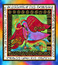 "ENCHANTMENT Panel Laurel Burch Quilt Fabric 23.5"" x 22"" Clothworks 1967-56M"