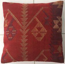 Alte Orientalisches Jejim Kelim Kissen old pillow Almohada Oreiller Cushion Red