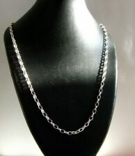 925 Silver 36 Inch Extra long  Belcher Necklace chain 7.7 Grams British Hallmark
