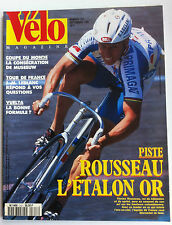 VELO MAGAZINE n°313 du 9/1995; Piste; Rousseau l'étalon Or/ Vuelta/ JM. Leblanc