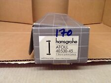 Hansgrohe Atoll Handtuch Bar 40530-weiß