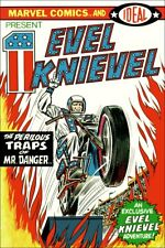 Evel Knievel Marvel Comics Comic Cover Reproduction Stand-Up Display - Stuntman