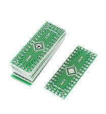 5 pcs QFN32 QFN40 to DIP 32/40 Adapter PCB Board Converter Double Sides
