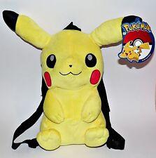 Pokemon Pikachu Rucksack Tasche Plüsch Plüschtier Kuscheltier Stofftier Figur v