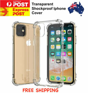 Soft Shockproof Clear Transparent Phone Cover Case For Iphone 5-6-7-8-11-12 Mini