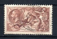 GB KGV 1934 2s 6d Re-engraved Seahorse SG450 fine CDS used WS20048