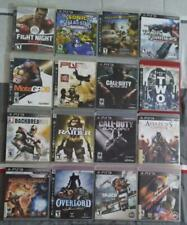 EMPTY REPLACEMENT CASES! Sony PlayStation PS3 Lot of 16 (Lot B)