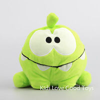 New Cut the Rope Hungry Om Nom Plush Toy Stuffed Doll Rare 8'' Xmas Gift