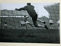 Hand signed 12x8 LIVERPOOL photo TOMMY LAWRENCE 'Flying Pig' Penalty v Best COA