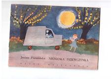 J Porazińska Niebieska dziewczynka Poczytaj mi mamo Polish book for children