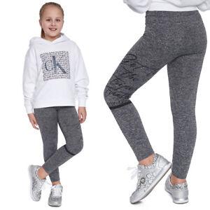 Girls Full Length Comfortable Soft Leggings Stretchy Elastic Child Pants FS81618