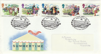 2 AUGUST 1994 SUMMERTIME ROYAL MAIL FIRST DAY COVER NALC LONDON WC1 SHS