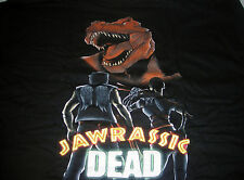 GILDAN 1 UP BOX JAWRASSIC DEAD MASHUP T-SHIRT MENS X-LARGE