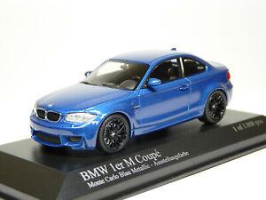 Minichamps 410020026 1/43 2011 BMW 1 M Coupe Diecast Metal Model Car