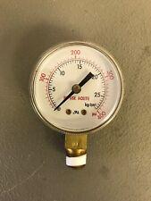 """Pressure Guage 0-400 PSI 1/4"""" NPT NEW"""
