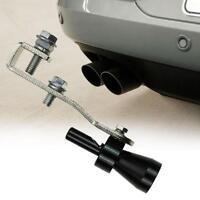 Car Style Exhaust Pipe Blowoff Valve Simulator Turbo Sound Whistle Muffler AZDET