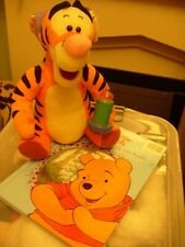 BED TIME TIGGER SOFT TOY AND WINNIE THE POOH BOOK