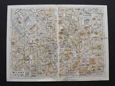 Antica Stampa=Topografica= MILANO =Scala1:15000 -1909c.