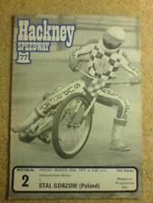 SPEEDWAY - Hackney v Stal Gorzow (Poland)   25 Mar 1977