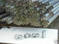 Galvanised steel tube 42.4mm dia, 17fts.Mild Steel Galvanised
