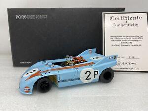 1/18 AUTOart 1971 Gulf Porsche 908/03 Nurburgring Siffert Bell Part # 87173