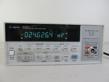 Agilent 34420a Nanovolt Micro Ohm Meter High Res 75 Digit Gpib