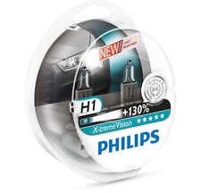 COPPIA Lampada Lampadina Luce PHILIPS X-TREME VISION H1 (P14.5s) 12V 55W +130%