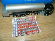 Volvo F16 Globetrotter 470 with Nitrogen tanker by Conrad 4323 1:50 Scale 280688
