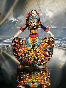 Catrina original art signed ceramic