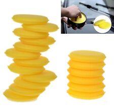 12Pcs Car Cleaning Waxing Polish Foam Sponge Wax Applicator Detailing Pads New