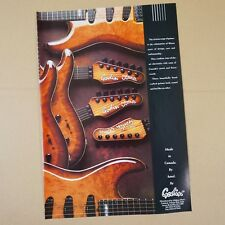 vintage 8x11 magazine cutting GODIN ARTISAN GUITARS 1991