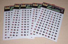 Lot 20 Susan Winget 4TH Fourth of July USA Americana Flag Mini Stickers TCR-4254