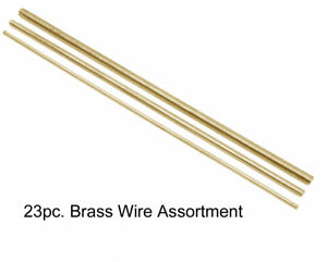 New Brass or Steel Clock Wire Assortments - Choose from 3 Types!