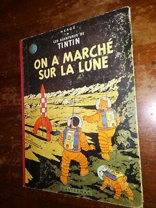 BD TINTIN (série B 1945-1975) / On a marché sur la Lune /B25-1958
