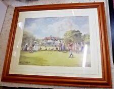 John S Goodall, The First Drive, Traditional Sport Golf Golfing Fine Art Framed