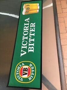 VB VICTORIA BITTER RUBBER BACK BAR MAT