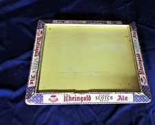 """Vintage 1950's Wooden Table Stand RHEINGOLD ALE Advertising 21"""" x 18"""" x 7"""""""