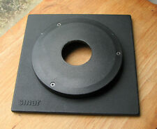 genuine Sinar F & P top hat 11mm lens board with copal compur 0 hole 34.7mm